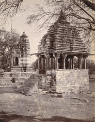 General view of the Varaha Temple, Khajuraho